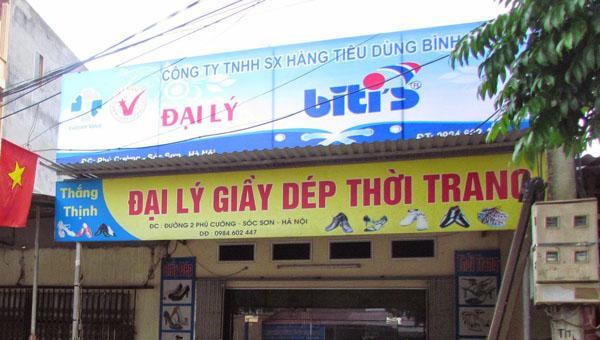 Làm biển quảng cáo cửa hàng tạp hoá