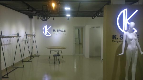 Trang trí showroom K. Space