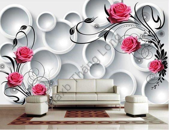 In UV 3D trang trí nội thất