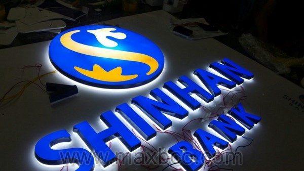 Logo,bộ chữ Shinhan Bank