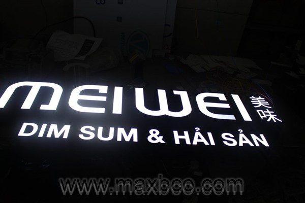 Bộ chữ nhà hàng MEIWEI